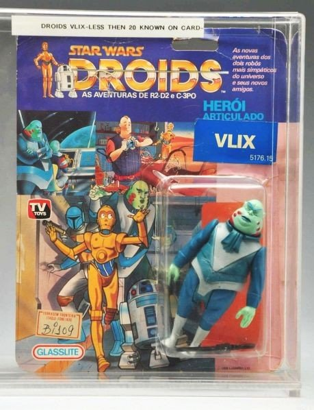 711: Star Wars Droids Vlix Carded Figure.