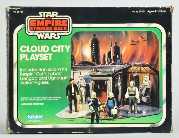 745: Star Wars Empire Strikes Back Cloud City Playset.