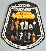 752 Star Wars Action Figure Store Display Sign