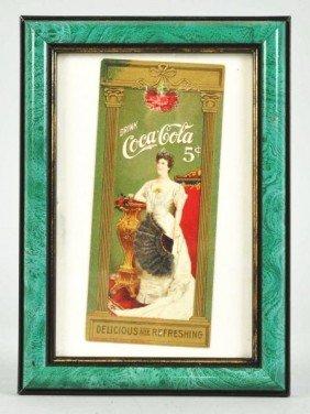Coca-Cola Bookmark.