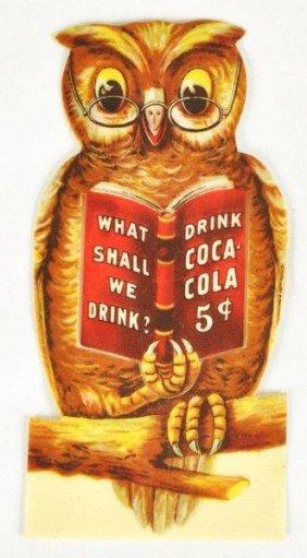 1002: Celluloid Coca-Cola Bookmark.