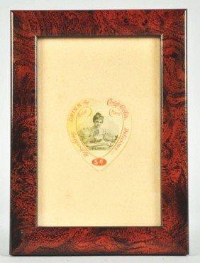 1003: Celluloid Coca-Cola Bookmark.