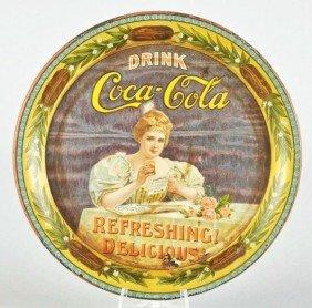1900 Coca-Cola Change Tray.