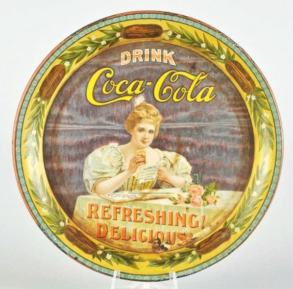 1007: 1900 Coca-Cola Change Tray.