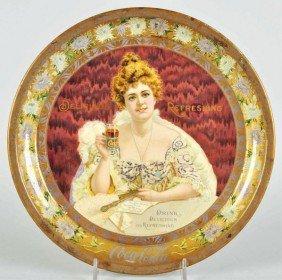 1008: 1903 Coca-Cola Serving Tray.