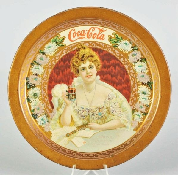 1009: 1903 Coca-Cola Change Tray.