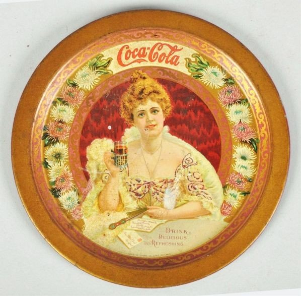 1010: 1903 Coca-Cola Change Tray.