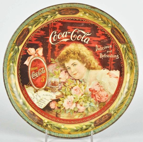 1011: 1901 Coca-Cola Serving Tray.