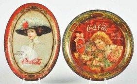 1901 & 1910 Coca-Cola Change Trays.