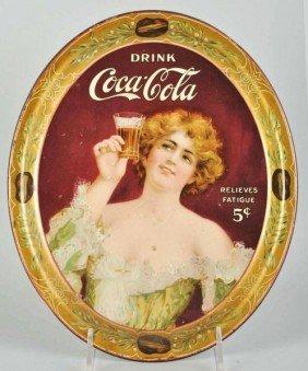 1022: 1907 Coca-Cola Serving Tray.