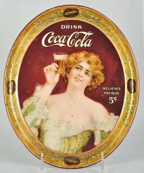 1022: 1907 Coca-Cola Serving Tray.