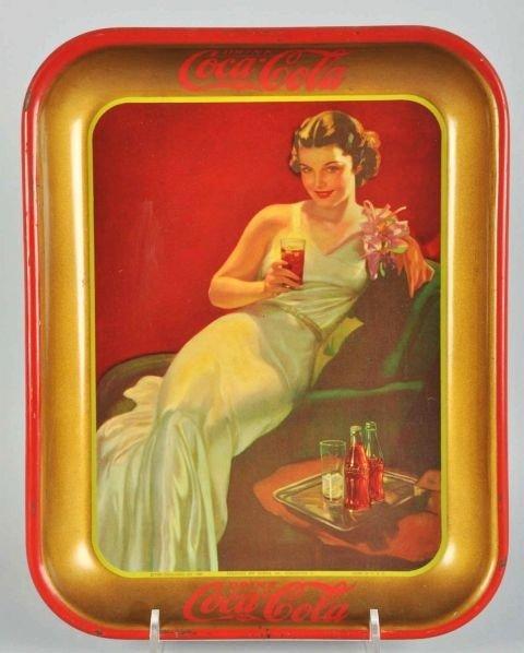 1036: 1936 Coca-Cola Serving Tray.