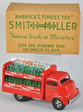 1118: Coca-Cola Smith-Miller Truck Toy.