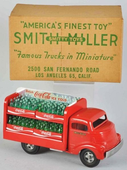 1118: Coca-Cola Smith-Miller Truck Toy.