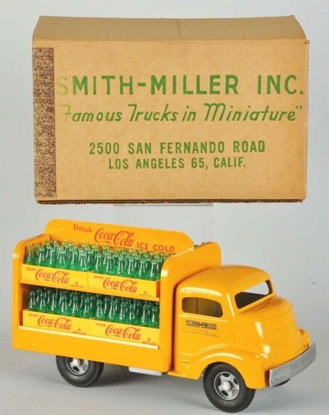 1128: Coca-Cola Smith-Miller Toy Truck.