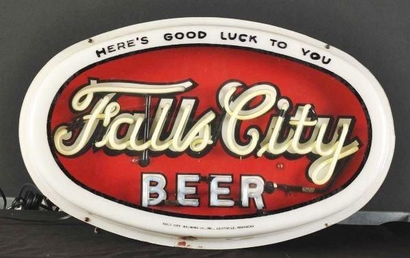 1620: Falls City Beer Neon Sign. - 2