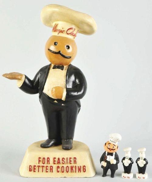 1919: Lot of 3: Magic Chef Items.