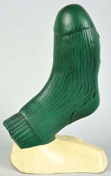1923: Hard Rubber McGregor Happy Foot Display. - 2