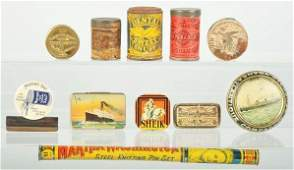 2088 Lot of 11 Assorted Advertising Pieces