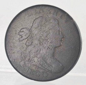 1800 Large Cent Wide Date.