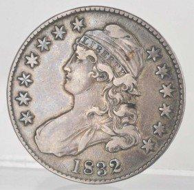 23: 1832 Bust Half Dollar VF.
