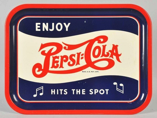 1: Pepsi-Cola Serving Tray.