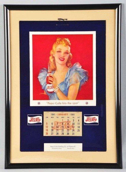 4: 1941 Pepsi-Cola Calendar.