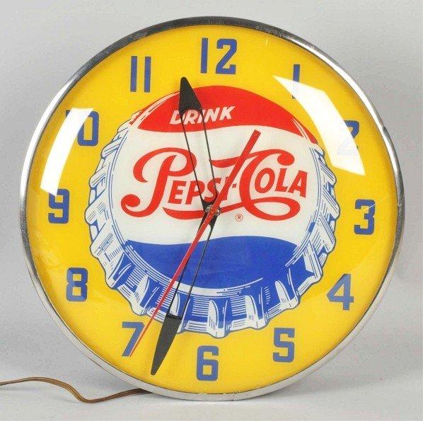 10: Pepsi-Cola Electric Light--Up Clock.