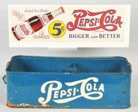 11: Pepsi-Cola Stadium Vendor & Paper Sign.