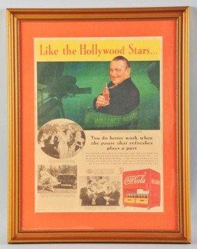 13: Full Page Coca-Cola Color Newspaper Ad.