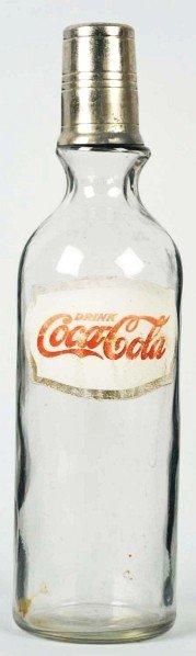 17: Coca-Cola Foil Label Syrup Bottle.
