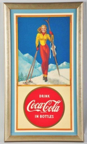 22: Paper Coca-Cola Poster.