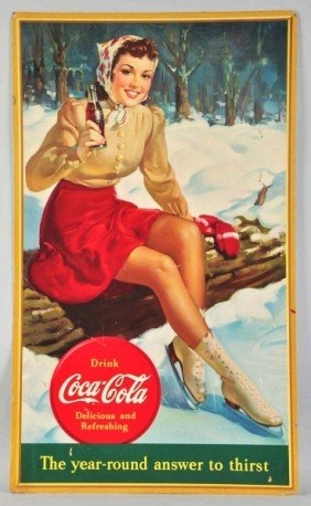 23: Large Coca-Cola Vertical Poster.