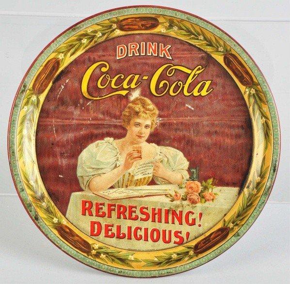 67: 1900 Coca-Cola Serving Tray.