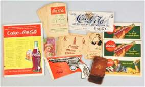 123 Lot of Assorted CocaCola Smalls