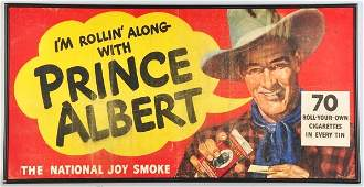 636 Canvas Prince Albert Tobacco Banner