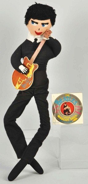 709: Vintage Remco Beatles Mascot Doll.