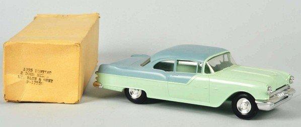 719: Plastic Jo-Han 1955 Pontiac Promo Car.