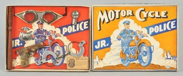 720: Hale-Nass Junior Police Motorcycle Set.