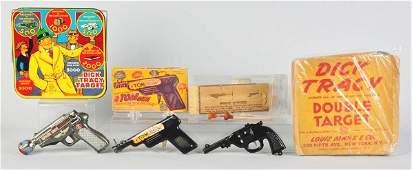 881: Lot of 3: Vintage Toy Pistols.