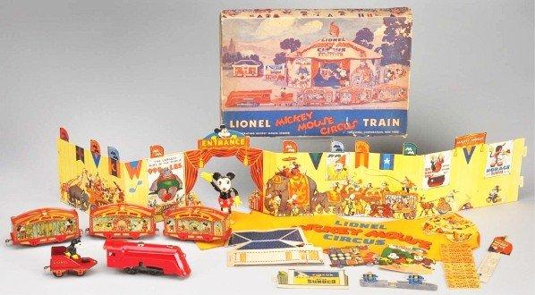 1007: Lionel Walt Disney Mickey Mouse Circus Train.