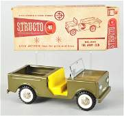 1299 Lot of 2 Pressed Steel Truck Toys