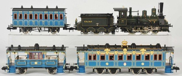 1742: Marklin 1-Gauge Bavarian Royal Court Train Set.