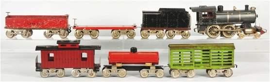 1875: Lionel Standard Gauge No. 6 Freight Train Set.