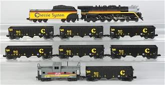 1898: Lionel Chessie Freight Train Set.