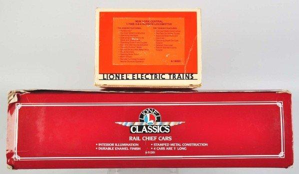 1908: Lionel Lines Classics Hudson Rail Chief Train. - 3