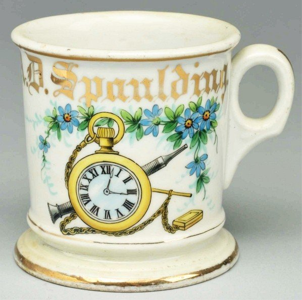 2: Pocket Watch Repairman Shaving Mug.