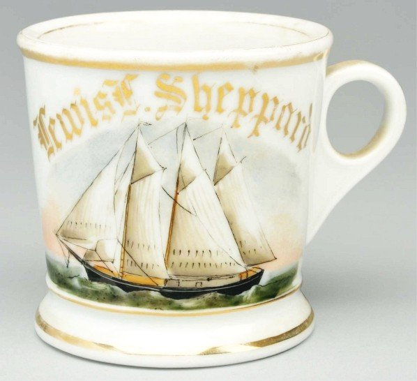 5: Captain Shaving Mug.