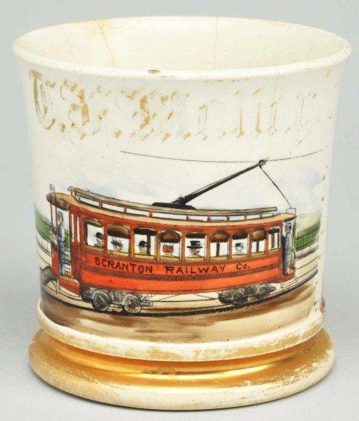 87: Railway Car Shaving Mug.