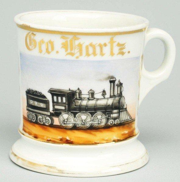 90: Locomotive Shaving Mug.